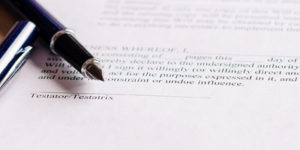 Notarization of documents - Documentation that requires signature