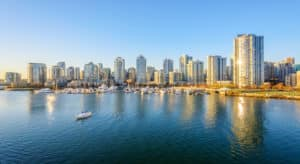 Equity Law Group - View of Downtown skyline in Vancouver, Canada